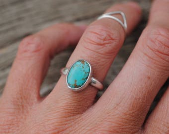 Simple Turquoise Ring | Size 6