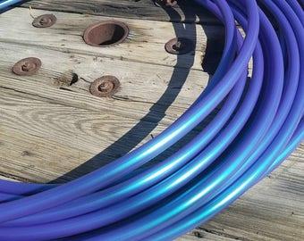 5/8 Polypro: Color Shift Poseidon Hula Hoop-Made to Order