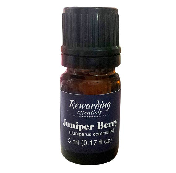 Juniper Berry Oil 100% Pure Therapeutic Grade by Rewarding Essentials US Seller