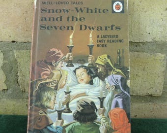Vintage Ladybird book well loved tales Snow White and the Seven Dwarfs price 40p