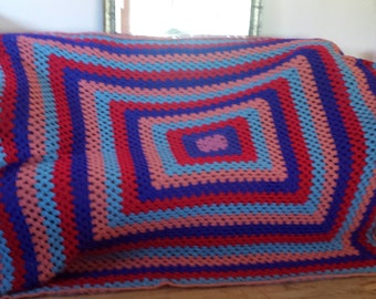Crochet blanket for Queen size bed