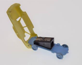 Rare Panhard 24 ct NSU Car Plastic  PENCIL SHARPENER a Polish Toy Poland