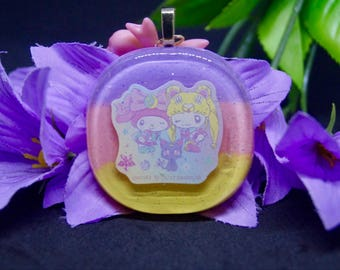 SALE Sailor Moon x Melody Resin Keychain