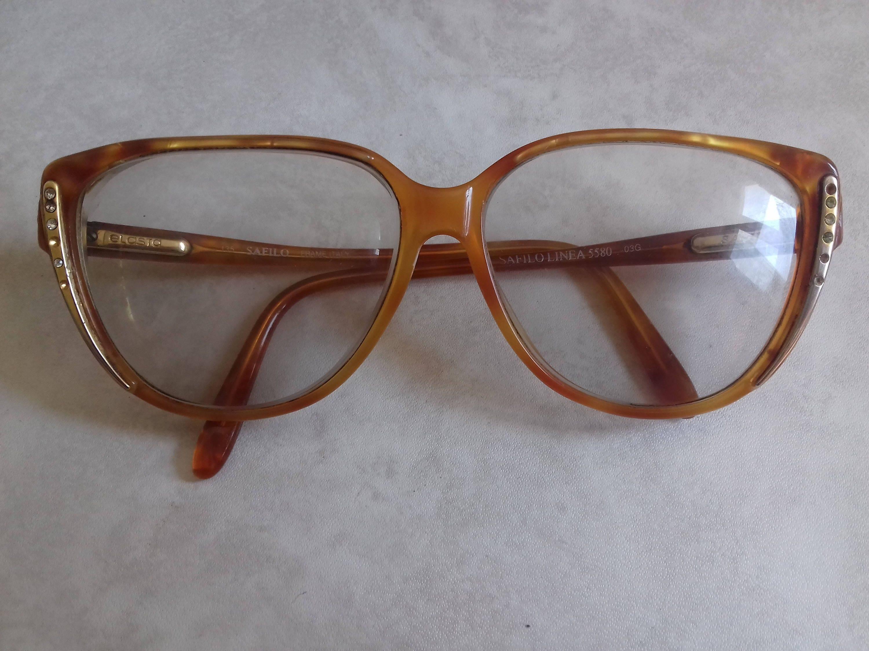 Vintage Women\'s Eyeglasses Frames, Safilo Linea 5580, with ...