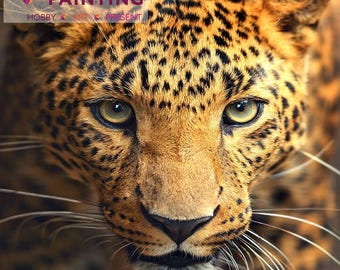 Diamond painting kit LEOPARD