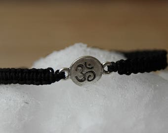 shamballa bracelet with pearls silvery