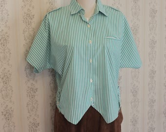 Vintage  Stripe Shirt from 1980