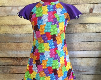 Gummy Bears Flutter Dress