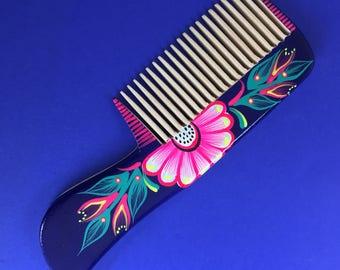 Handpainted Alebrije Comb Handmade in Oaxaca, Mexico