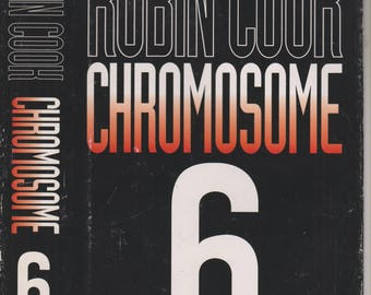 Chromosome 6 by Robin Cook (Hardcover, Medical Thriller) 1997