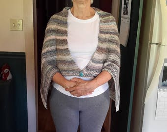 A Lovely Hand Knit Shawl