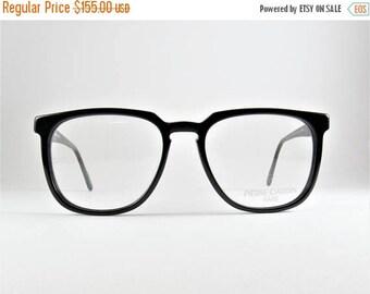 Vintage Eyeglasses, Pierre Cardin, 80s, Wayfarer Glasses, Hipster Sunglasses, Mens Eyeglasses, Gift for Him, Unisex Glasses, Boyfriend Gift