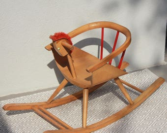 Baumann old toy rocking horse