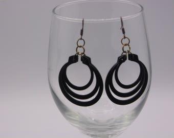 Snap Ring Earrings
