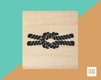 Love Knot-1 - 3cm Rubber Stamp (DODRS0026)