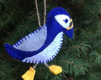 Aunt Cid Puffin Ornament