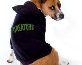 Creature Dog Hoodie - Adorable!