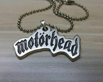 Motorhead Custom Necklace 925 Silver Plated Free Shipping