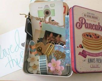 Kit pancakes for planner, smashbook, mini album and pocket letter