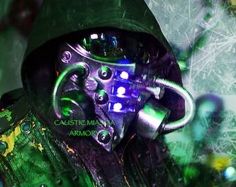 INCURSION LED Cyberpunk Cosplay Mask