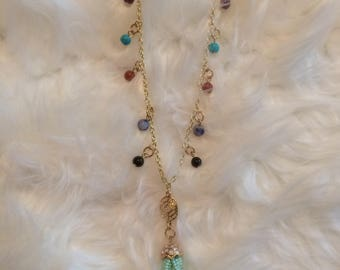 Hanging Bead Necklace