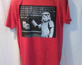 Star Wars Tshirt 'These are the Droids we are looking for'