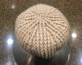 Crocheted Winter Hat Beanie Toque