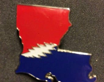 Grateful Dead and Company Louisiana State Pin
