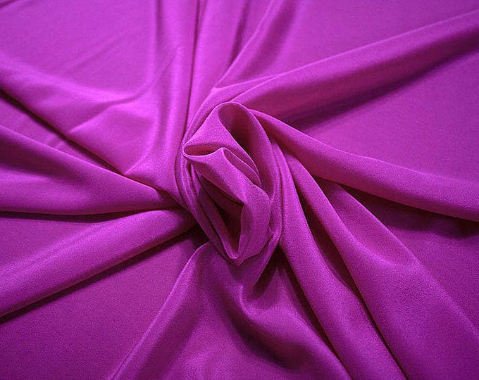 301131-Chinese natural silk crepe 100%, width 135/140 cm, made in Italy, dry cleaning, weight 88 gr