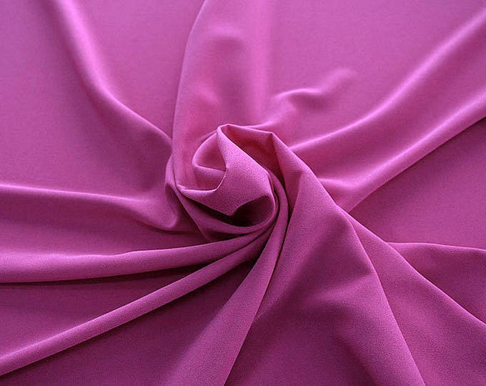 905139-Crepe 100% Polyester, width 150 cm, made in Italy, dry washing, weight 306 gr