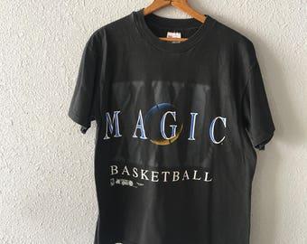 Vintage Orlando Magic Basketball 1990's 90's Orlando Magic T Shirt