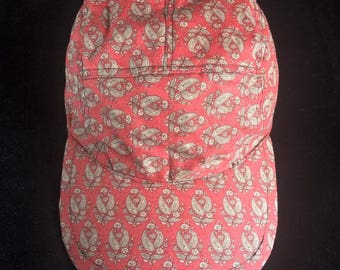 Red Paisley Five Panel