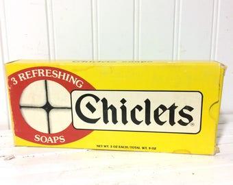 Vintage Novelty Chicklet Soap