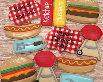 BBQ Cookie Set (1 Dozen)