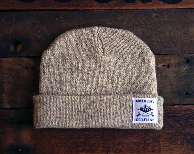 Featured listing image: 100% Wool Basecamp Cap