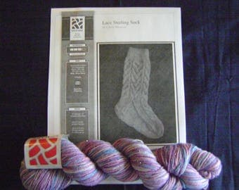 Sterling Silk and Silver Sock Kit