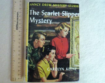 Nancy Drew Mystery Stories - The Scarlet Slipper Mystery - Carolyn Keene