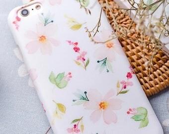 iPhone 6 Case iPhone Case 6 iPhone 6s Case iPhone Case 6s - Little Flower - Super Kawaii - Collection NyuCase - Soft Case Ultra Slim - Matte