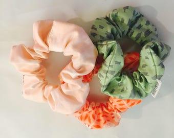 Ready / Trio ponytail / scrunchies