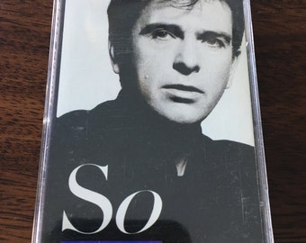 Peter Gabriel SO Cassette