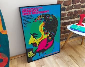 Jan Brzechwa Birthday Poster