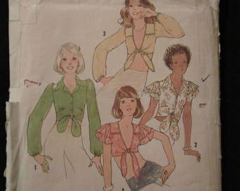 Vintage Uncut Pattern SImplicity 6901 - Size 12