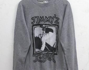 20% OFF Jimmy Z x X girl Sweater Vintage 80s Jimmy Z Skateboard Skate Surf T shirt Powell Peralta Santa Cruz Bones / Pushead /Vision Street