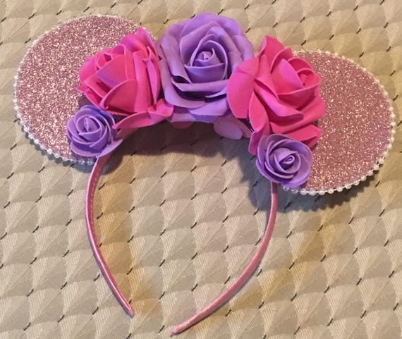 Rapunzel inspired Disney minnie Mickey Mouse ears