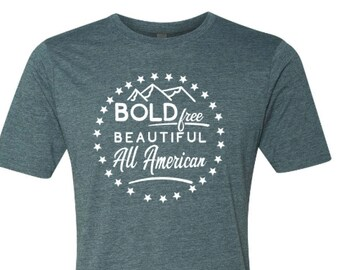 America Shirt - USA Shirt- 4th of July Shirt - Made in the USA - Enid and Elle