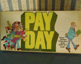 Vintage Pay Day Game by Parker Brothers from 1975