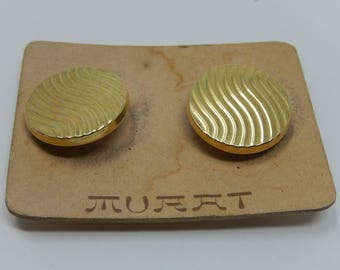 Murat Gold Plated Cufflinks, Free Shipping!