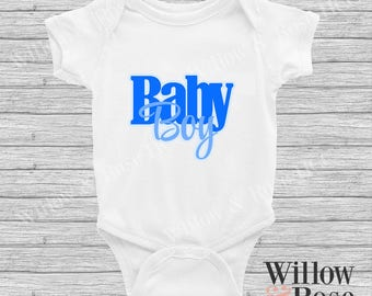 Baby Boy Onesie In Sizes 0000-1