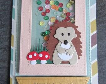 Happy birthday child, handmade card