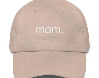 Mom Embroidered Dad Hat 2 Colorways By The Bad Dads Club